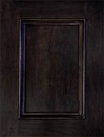 Wood Door Styles Flat Panel With Applied Mould