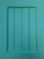 Lacquered Door Styles Shaker Double U Groove