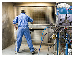 Starline Cabinets Automatic Paint Spraying Equipment
