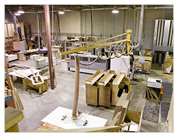 A look inside the Starline Cabinets Workshop